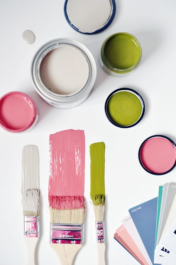 Love the Amanda Forrest Collection from FAT Paint chalk style paint
