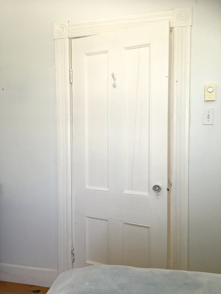 The after master bedroom door