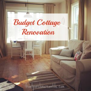 Seaside Cottage Renovation – Main Floor