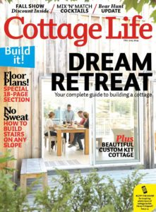 I've been featured in Cottage Life Magazine