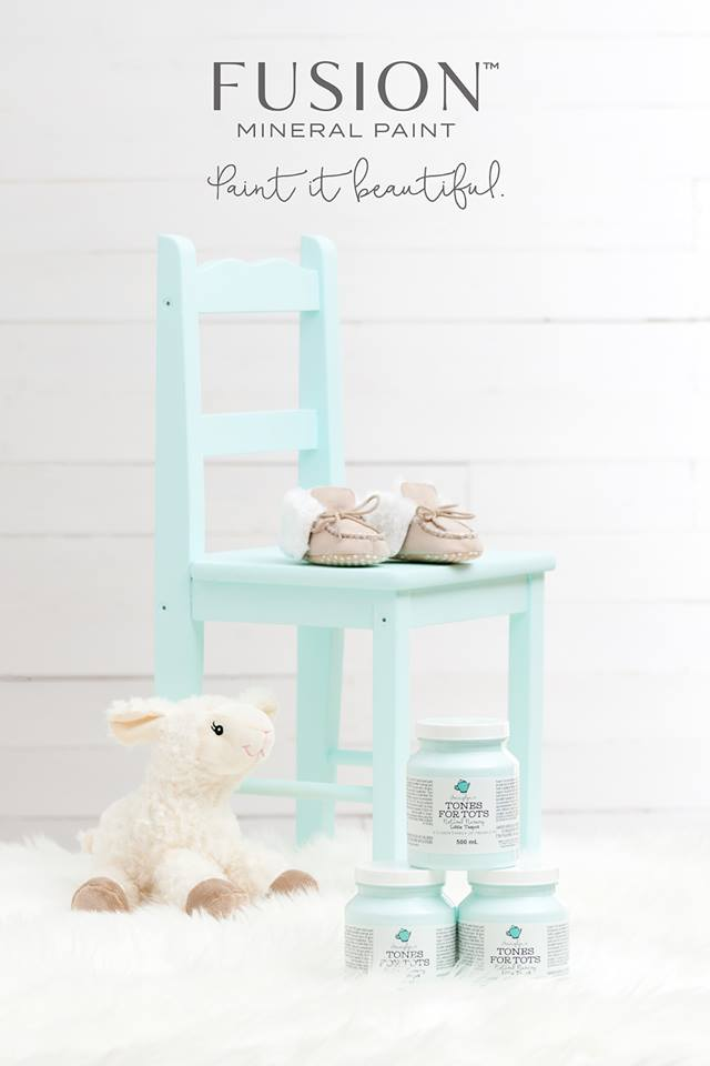 Fusion Mineral Paint Tones for Tots collection - whats the difference in paints?