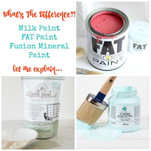 What's The Difference in Furniture Paints?