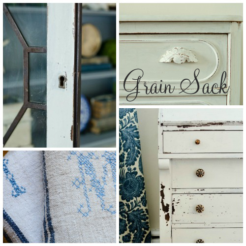 Love this groegeous colour from Miss Mustard Seed's Milk Paint