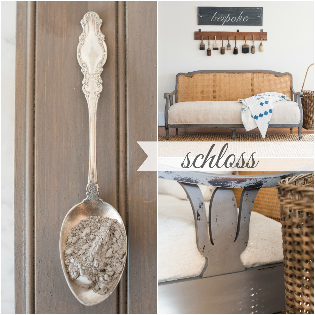 Schloss is a gorgeous Miss Mustard Seed's Milk Paint I can't get enough of