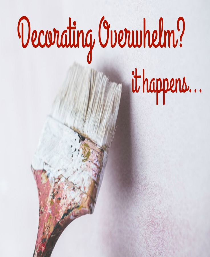 Overwhelm happens to all of us..what to do?