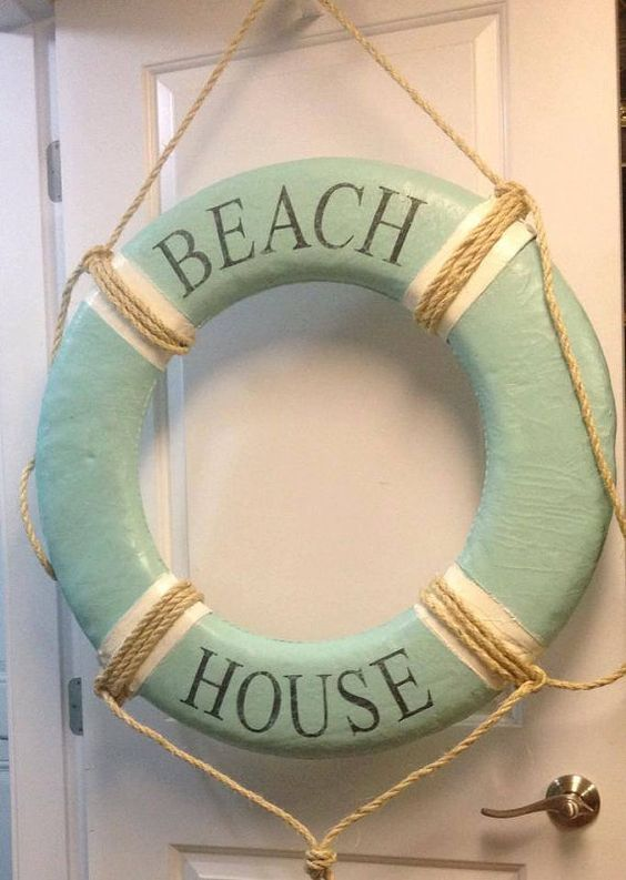 Beach Cottage decorating