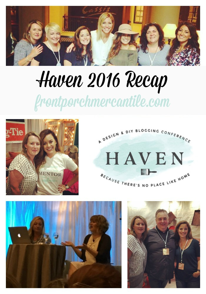 My recap of Haven 2016 Front Porch Mercantile