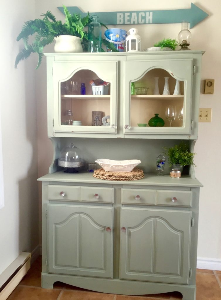 Re loved cottage buffet in Layla's Mint Milk Paint