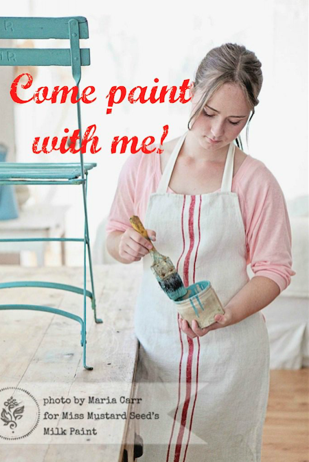 Paint With Me - join our next workshop