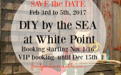 Save the Date – A DIY By the Sea Retreat