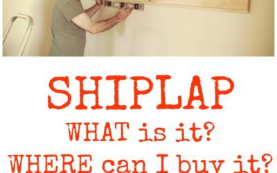 What is Shiplap and Where to Buy it