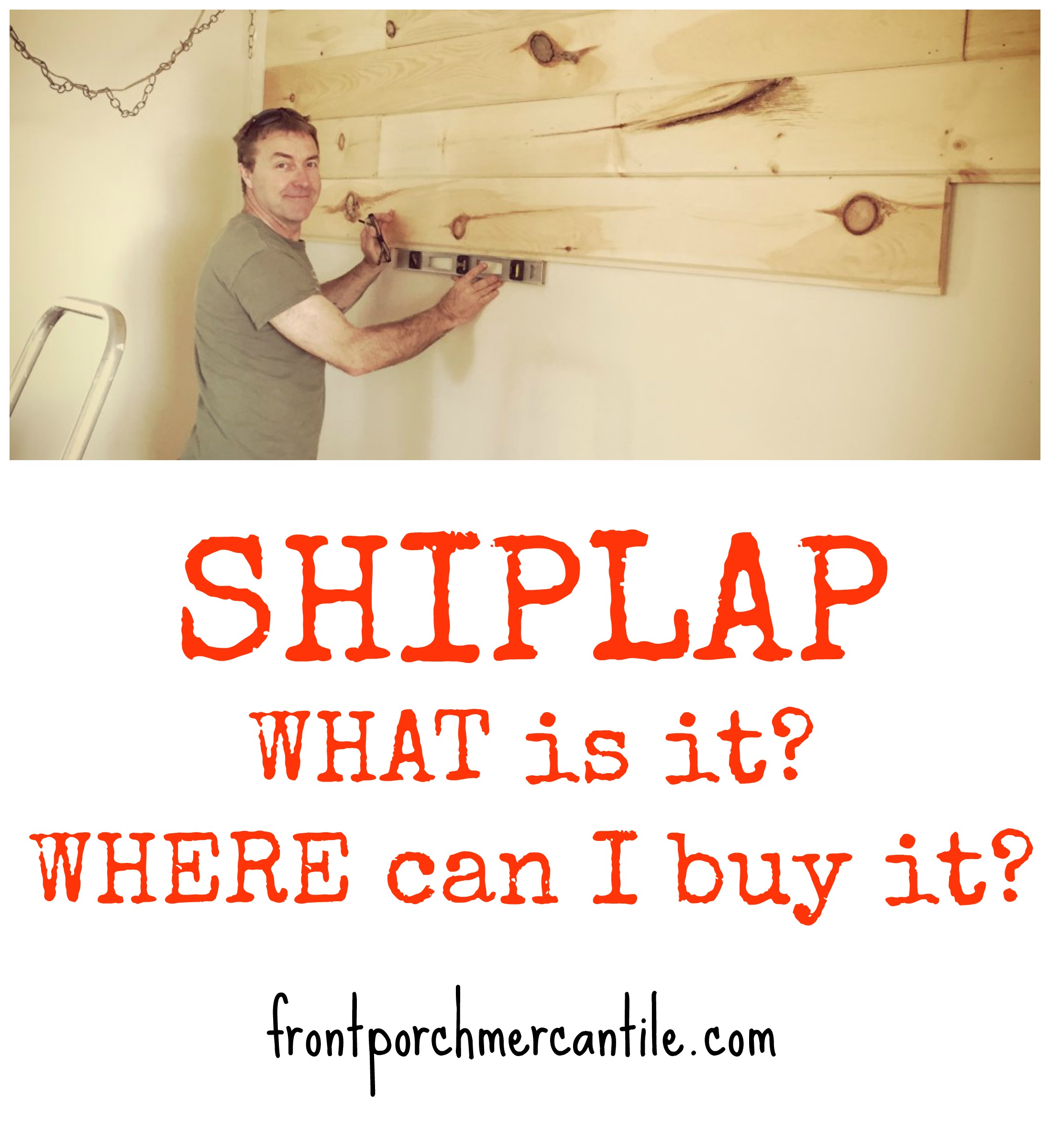 What To Buy: What Is Shiplap And Where To Buy It