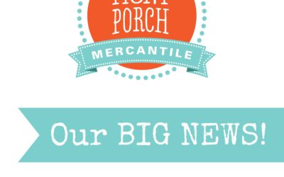 Some BIG Front Porch News