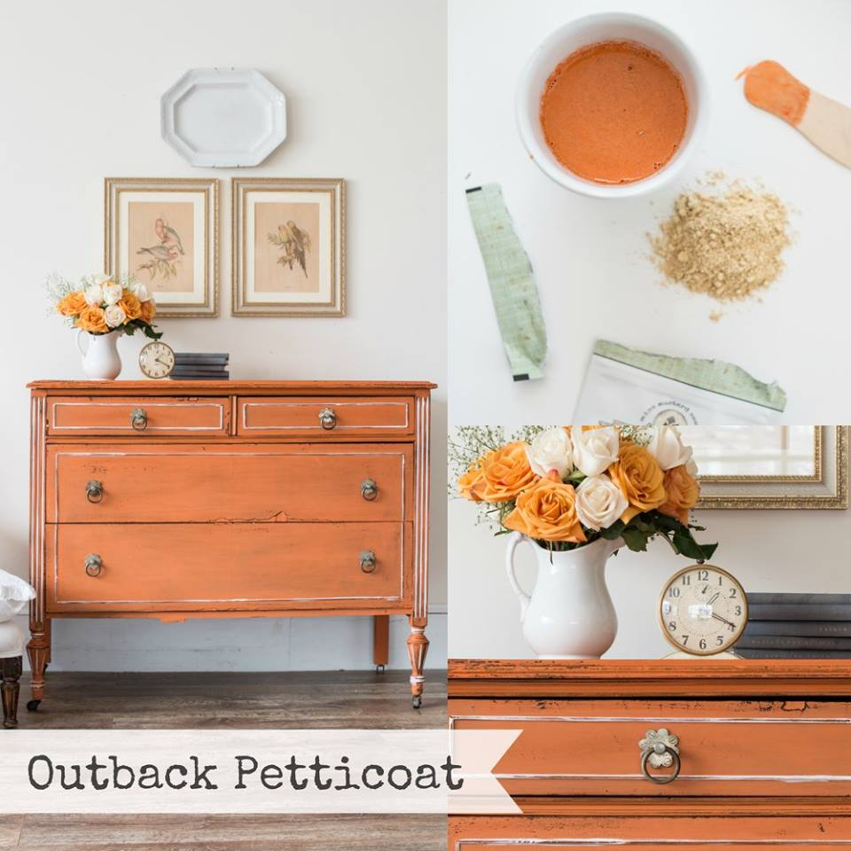 New Miss Mustard Seed's Milk Paint Colour Outback Petticoat - so pretty