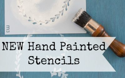 New Hand Painted Stencils from Miss Mustard Seed