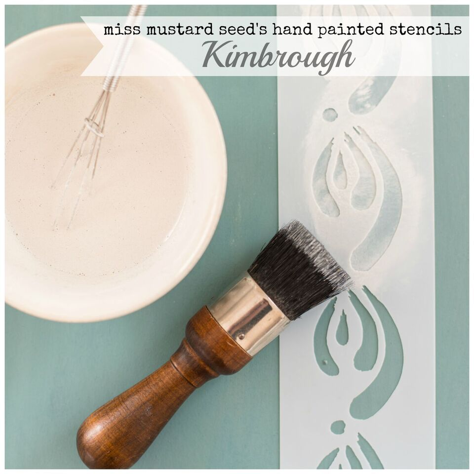 Beautiful new brush stoke stencils now available