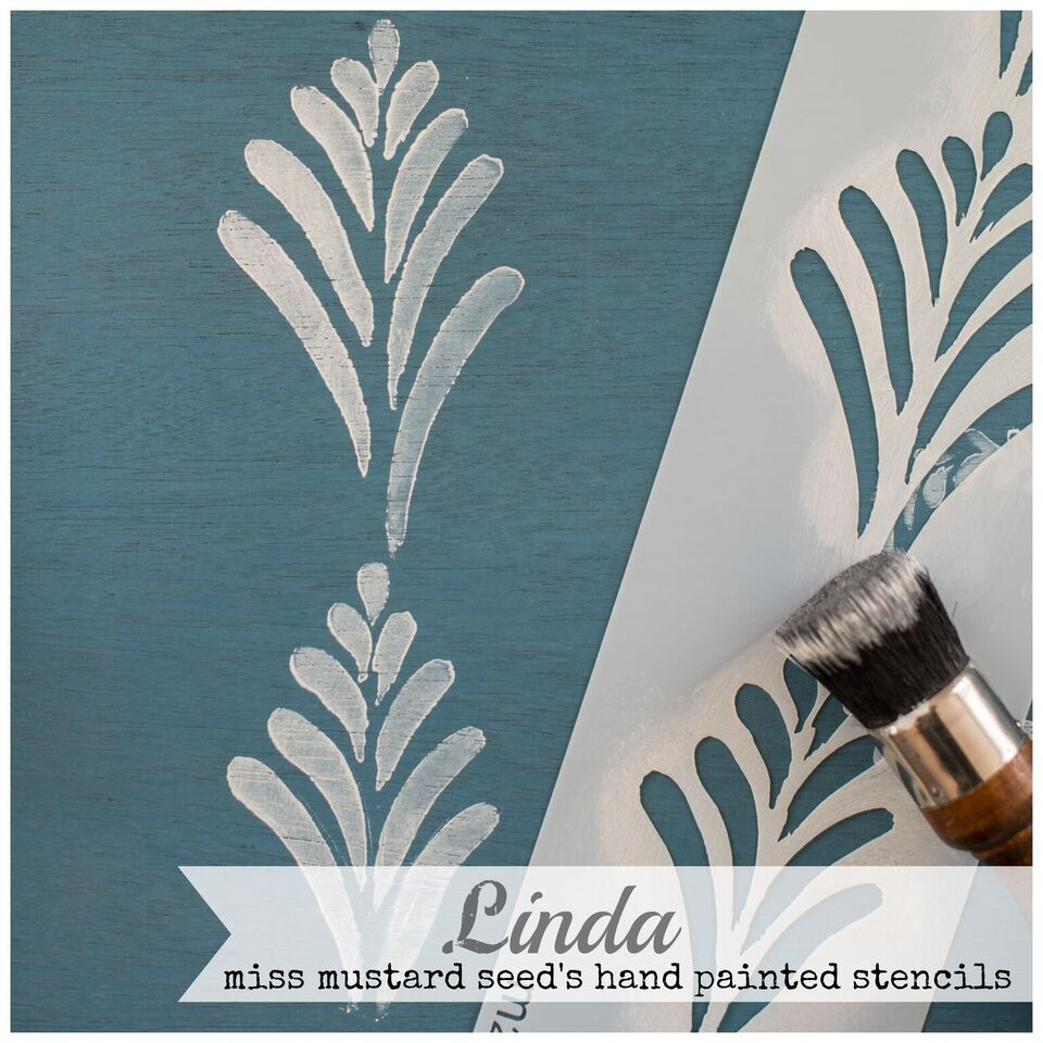 Beautiful hand painted stencils from MMSMP