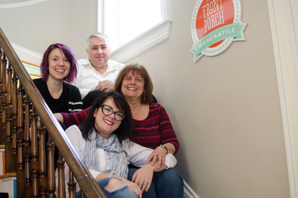 our Front Porch Mercantile Moncton team is ready to inspire and empower you to re love your home with colour and creativity