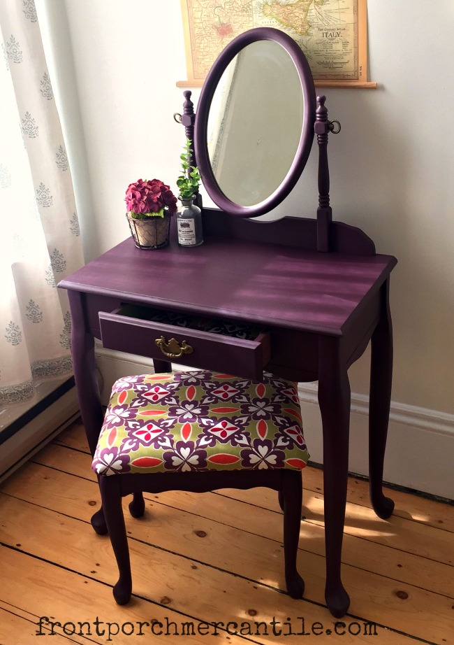 """""""plum"""" a beautiful Fusion Mineral Paint custom colour from Front Porch Mercantile and runner up i"""