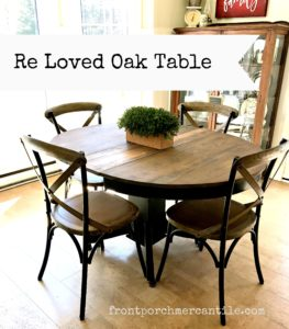 Re-Loved Oak Kitchen Table
