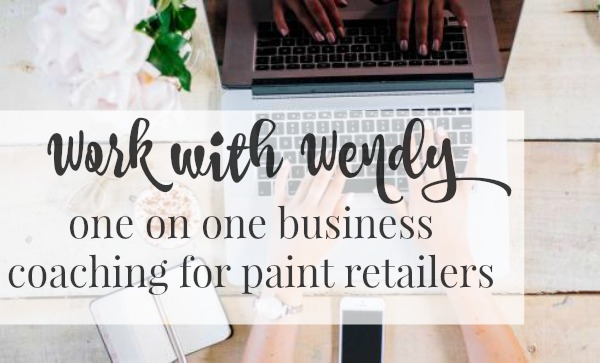 Work with Wendy to grow your paint retailer business