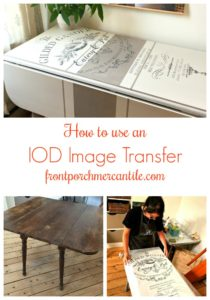 How to use IOD Transfers