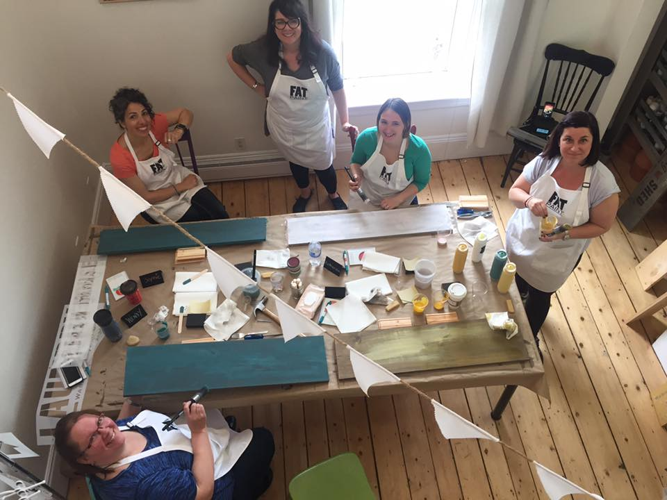 Fun workshops at Front Porch Mercantile