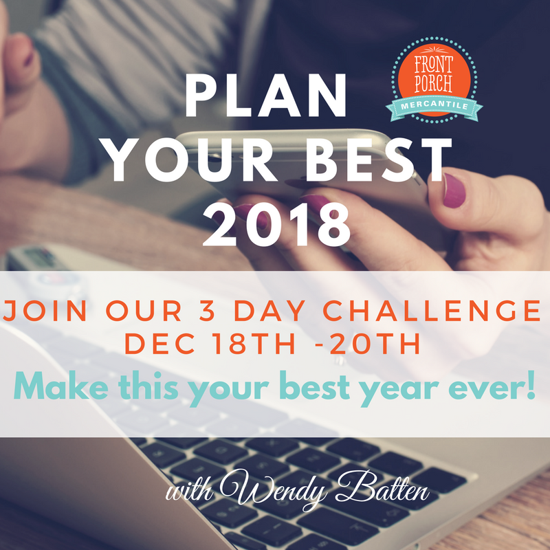 Plan for the best year ever!