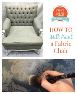 Milk Painted Chair How To