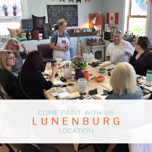 Join Wendy in Lunenburg for a fun paint workshop