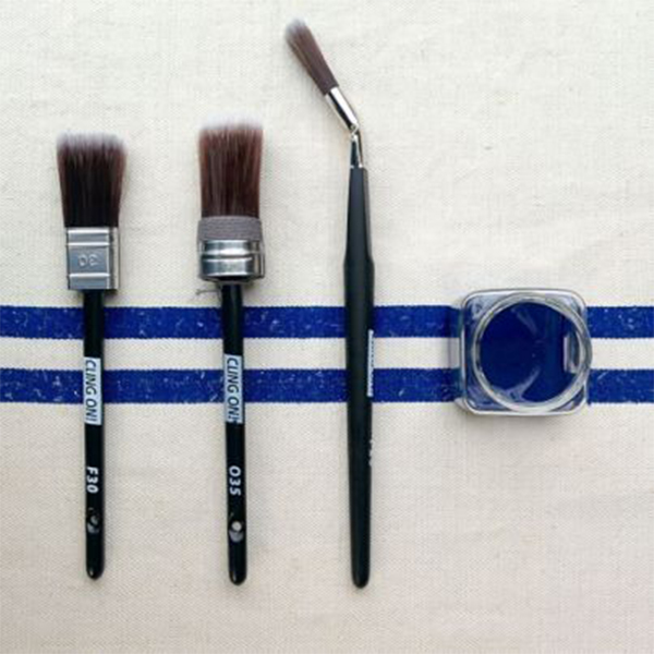 Choosing the right brush from Front Porch Mercantile
