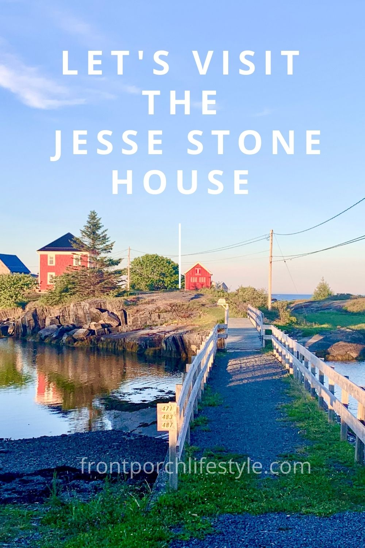 Visit the Jesse Stone House is Stonehurst, Nova Scotia with Front Porch Lifestyle